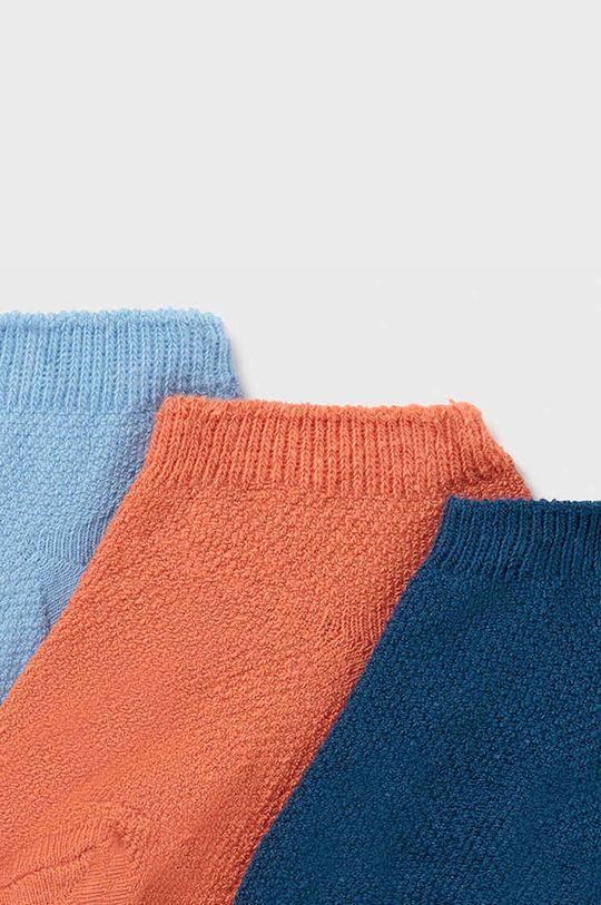 Mayoral - Detské ponožky (3-pak) broskyňová