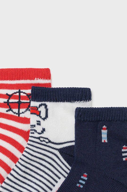 Mayoral - Dětské ponožky (3-PACK) ostrá červená
