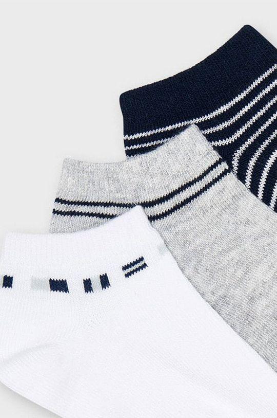 Mayoral - Detské ponožky (3-pak) biela