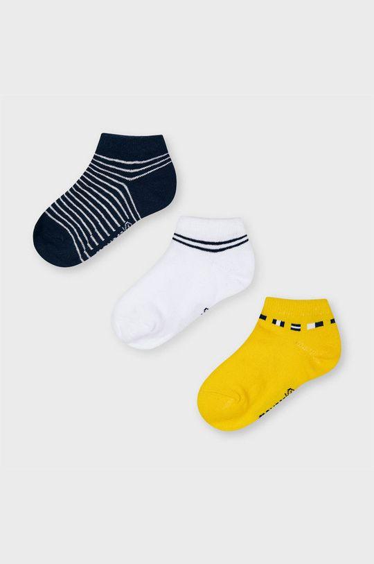 žltá Mayoral - Detské ponožky (3-pak) Chlapčenský