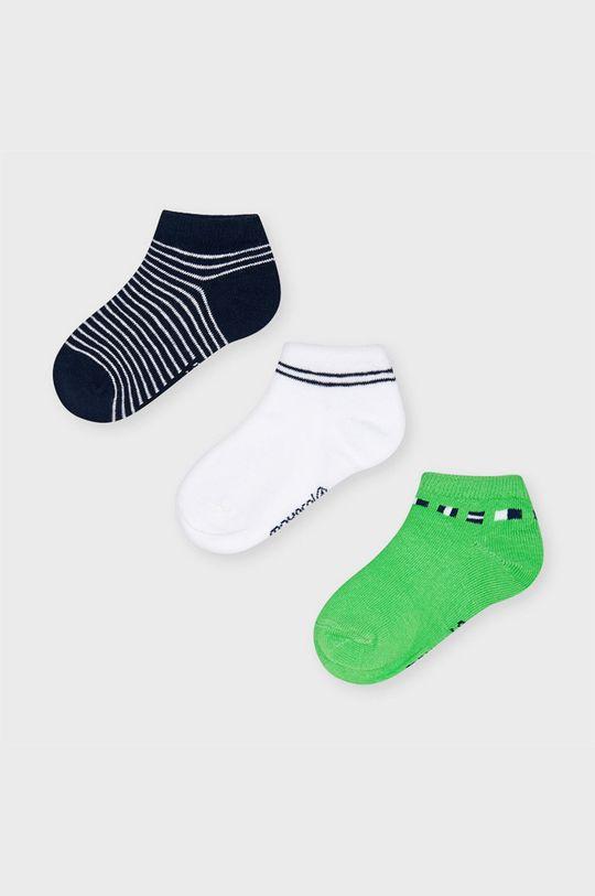 sýto zelená Mayoral - Detské ponožky (3-pak) Chlapčenský