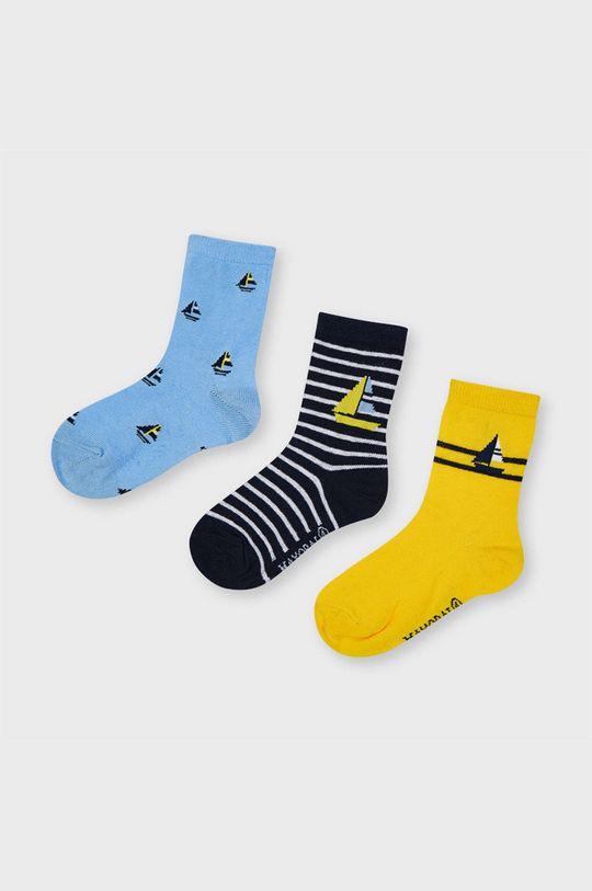 žlutá Mayoral - Dětské ponožky (3-PACK) Chlapecký