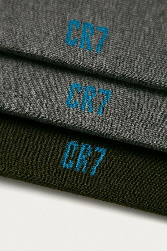 CR7 Cristiano Ronaldo - Dětské ponožky (3-pack) šedá