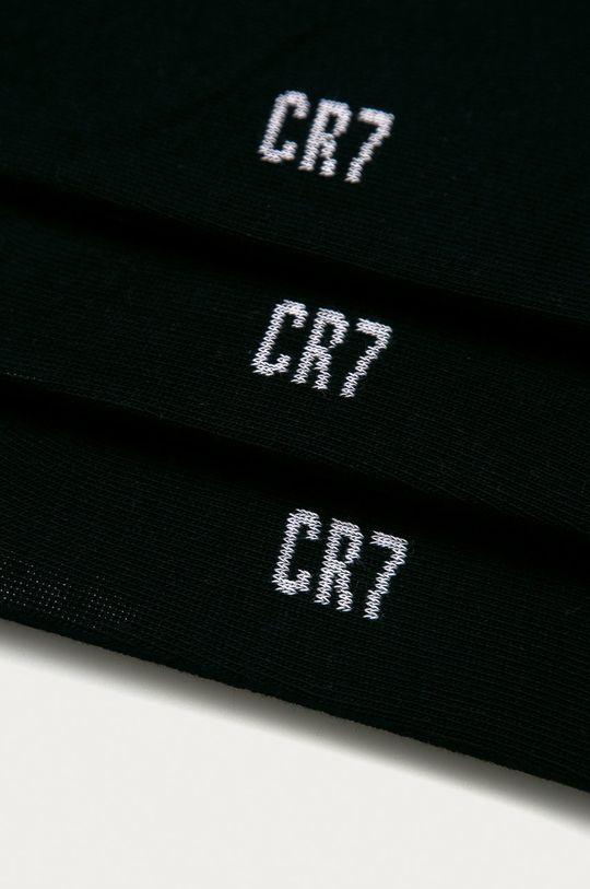 CR7 Cristiano Ronaldo - Skarpetki dziecięce (3-pack) czarny