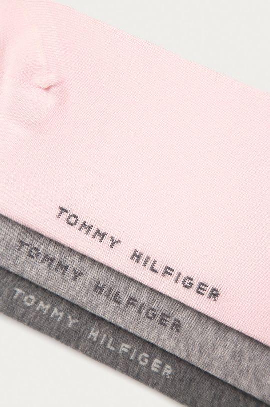 Tommy Hilfiger - Ponožky (3-pack) růžová
