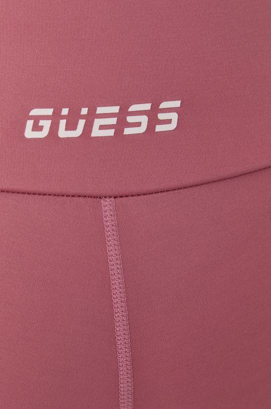 różowy Guess - Legginsy