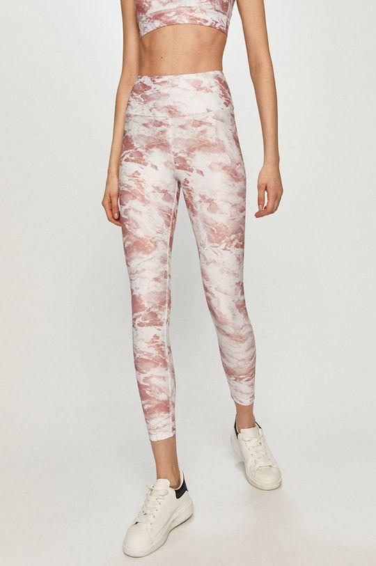 pastelowy różowy Guess - Legginsy Damski
