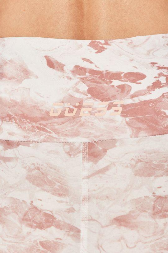 pastelowy różowy Guess - Legginsy