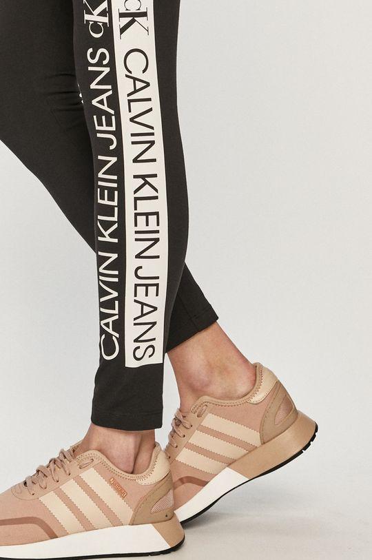 czarny Calvin Klein Jeans - Legginsy