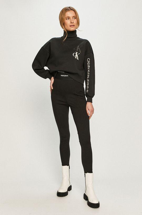 Calvin Klein Jeans - Legginsy czarny