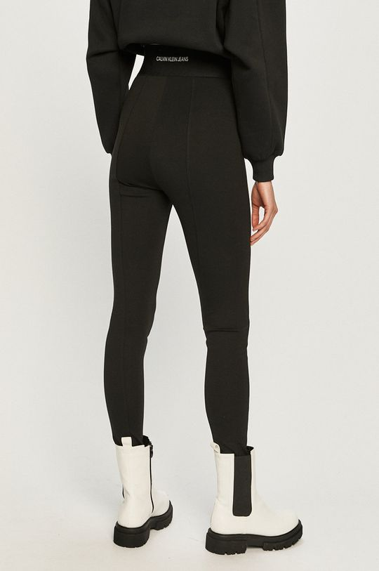 Calvin Klein Jeans - Legginsy 5 % Elastan, 29 % Poliamid, 66 % Wiskoza
