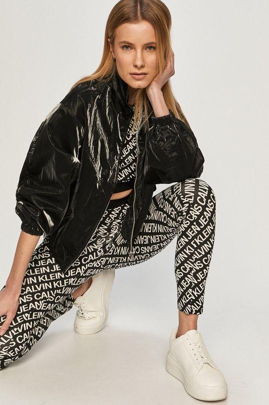 čierna Calvin Klein Jeans - Legíny