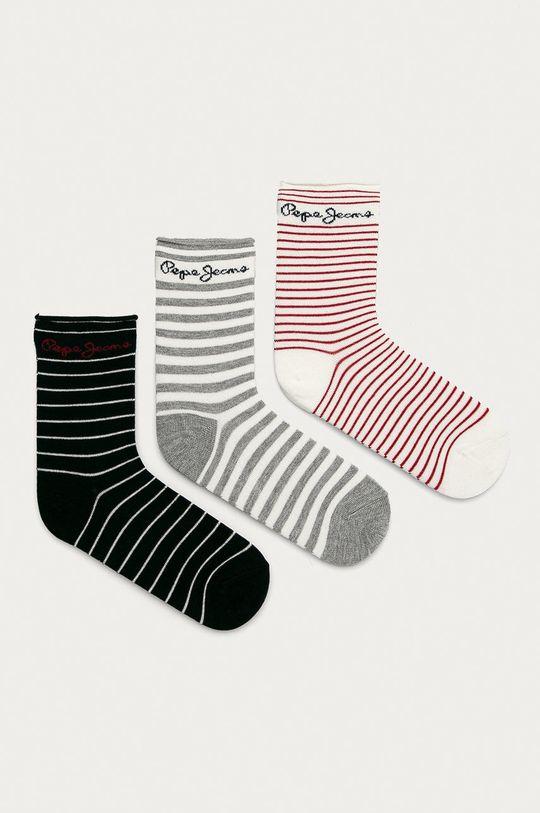 vícebarevná Pepe Jeans - Ponožky Tallulah (3-pack) Dámský