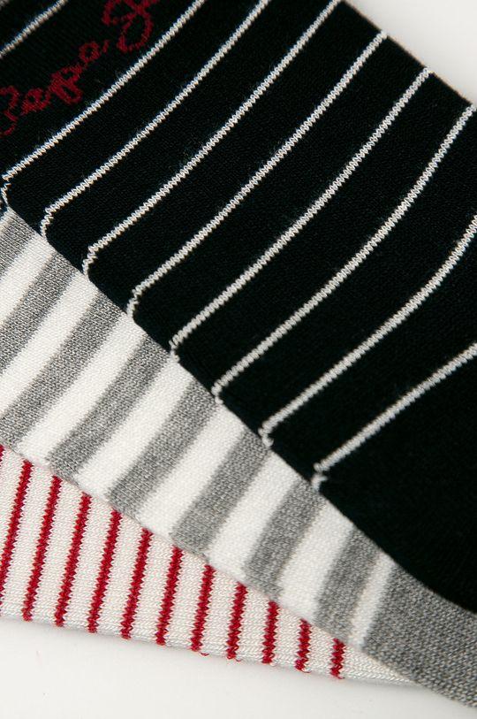 Pepe Jeans - Ponožky Tallulah (3-pack) vícebarevná