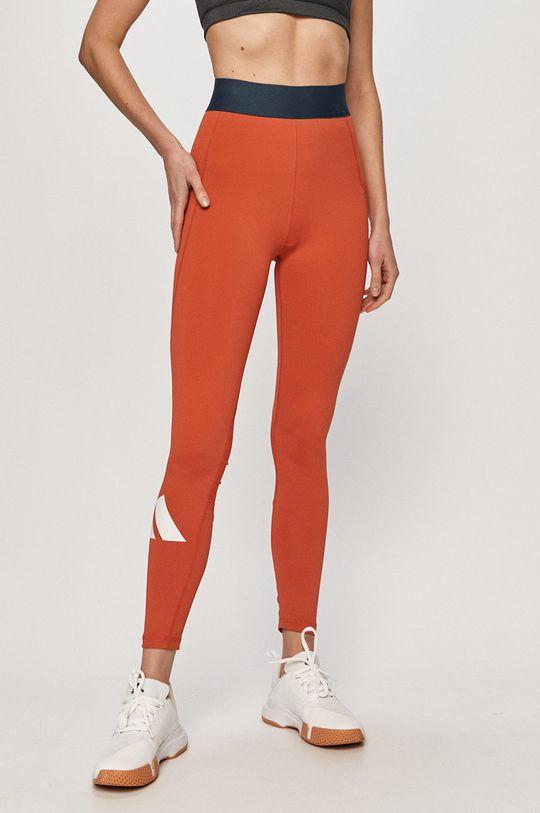 oranžová adidas Performance - Legíny Dámský