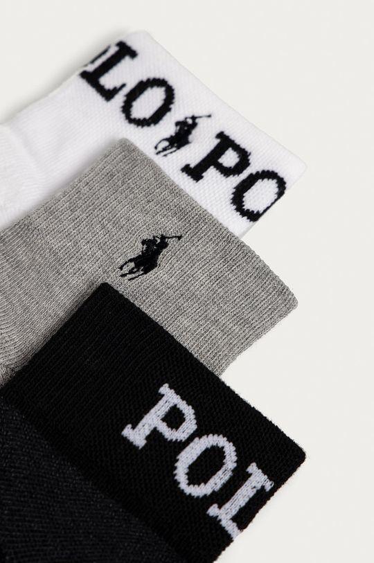 Polo Ralph Lauren - Ponožky (3-pak) biela