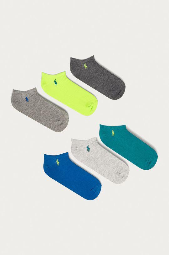 modrá Polo Ralph Lauren - Ponožky (6-pak) Dámsky