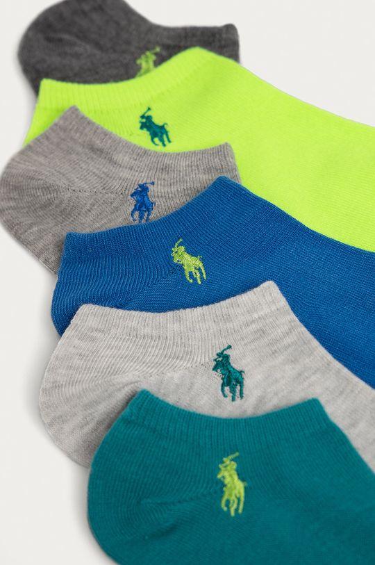 Polo Ralph Lauren - Ponožky (6-pak) modrá