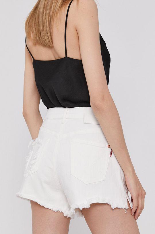 Miss Sixty - Rifľové krátke nohavice  Základná látka: 98% Bavlna, 2% Elastan Podšívka vrecka: 100% Bavlna