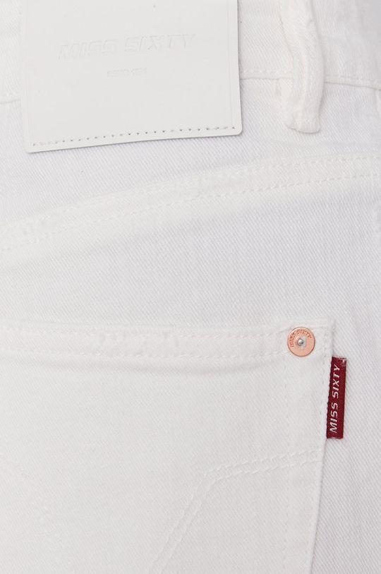 biela Miss Sixty - Rifľové krátke nohavice