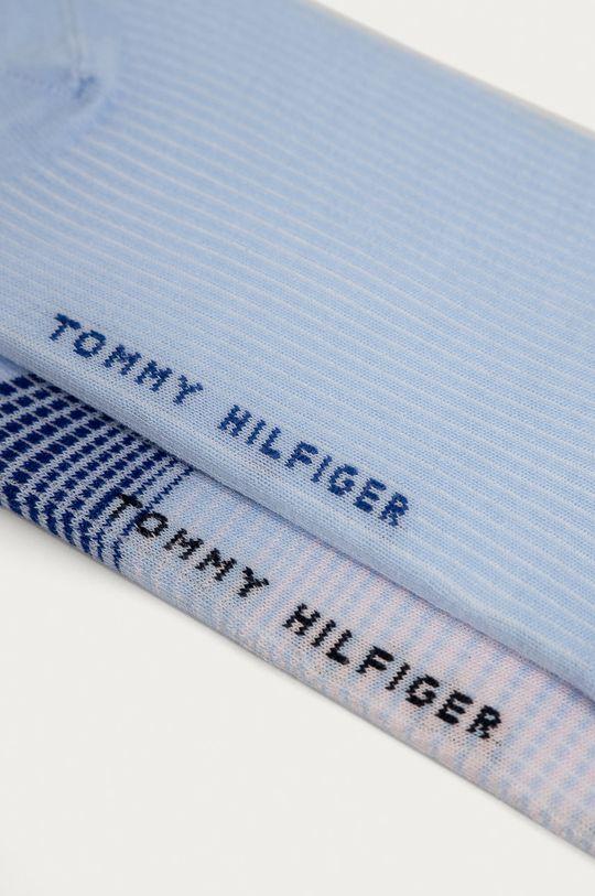 Tommy Hilfiger - Sosete (2-pack) albastru