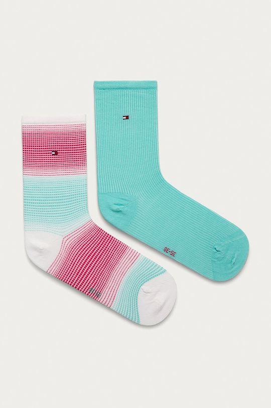 mätová Tommy Hilfiger - Ponožky (2-pak) Dámsky