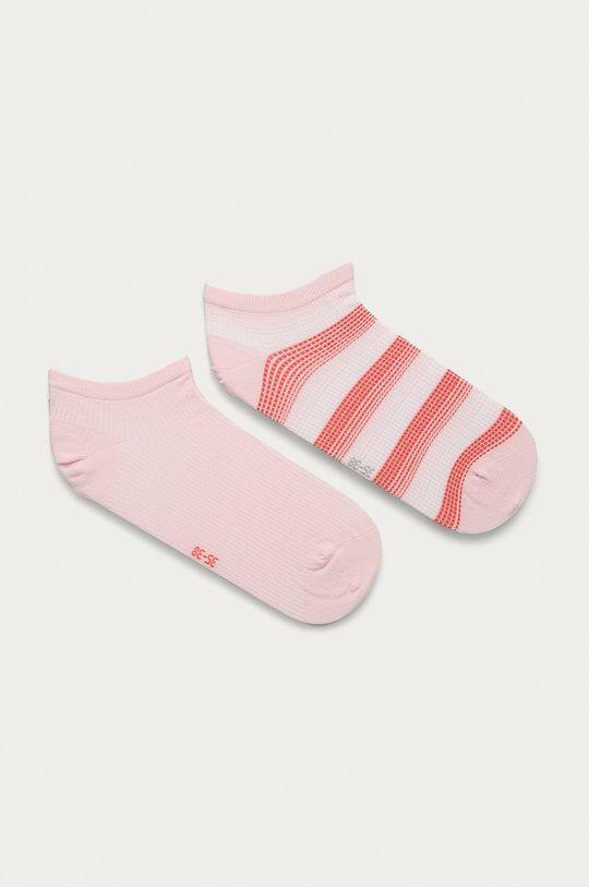ružová Tommy Hilfiger - Ponožky (2-pak) Dámsky
