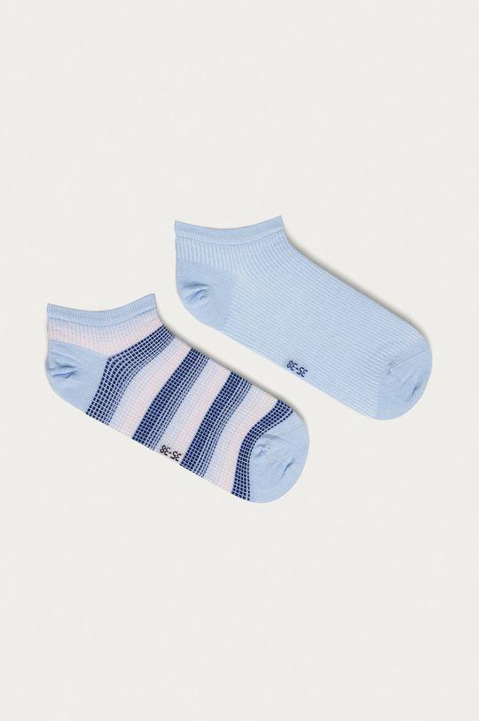 svetlomodrá Tommy Hilfiger - Ponožky (2-pak) Dámsky
