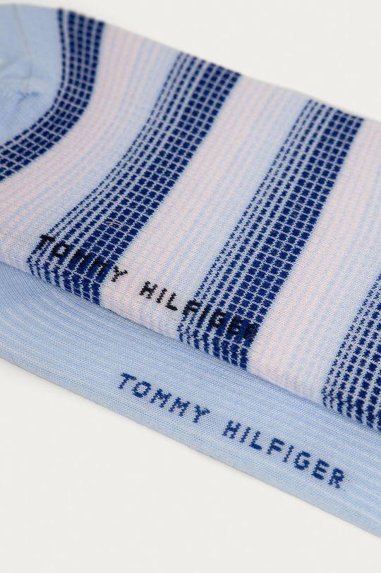Tommy Hilfiger - Sosete (2-pack) albastru deschis