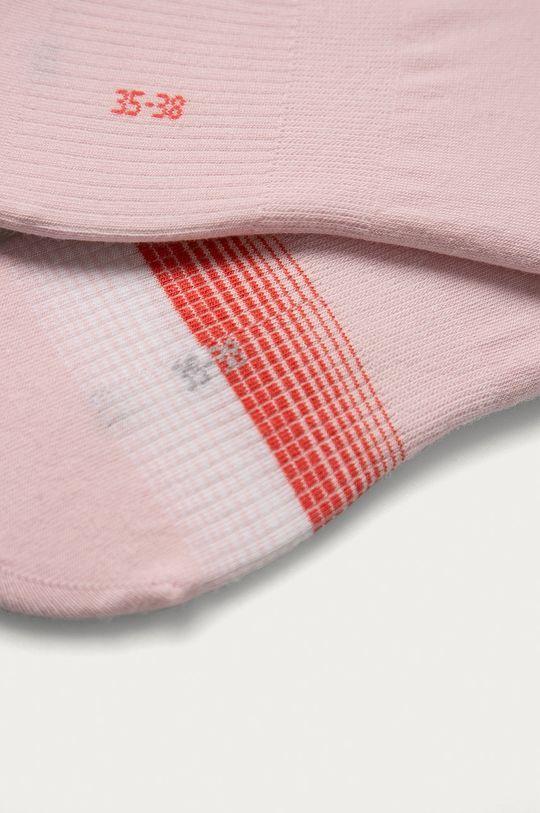 Tommy Hilfiger - Sosete scurte (2-pack) roz