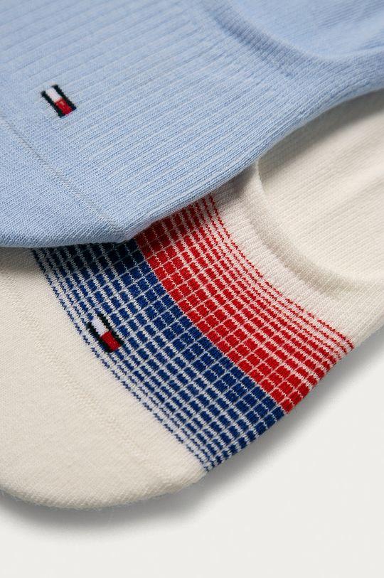 Tommy Hilfiger - Členkové ponožky (2-pak) viacfarebná