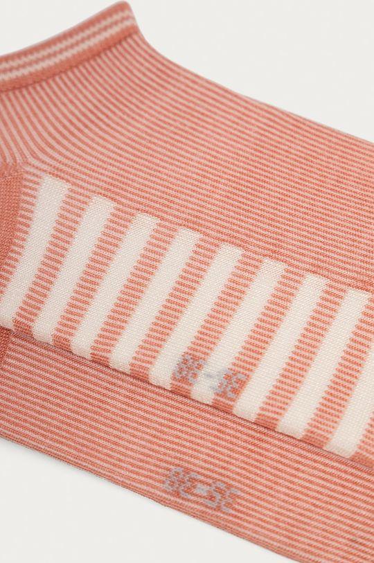 Tommy Hilfiger - Ponožky (2-pak) koralová