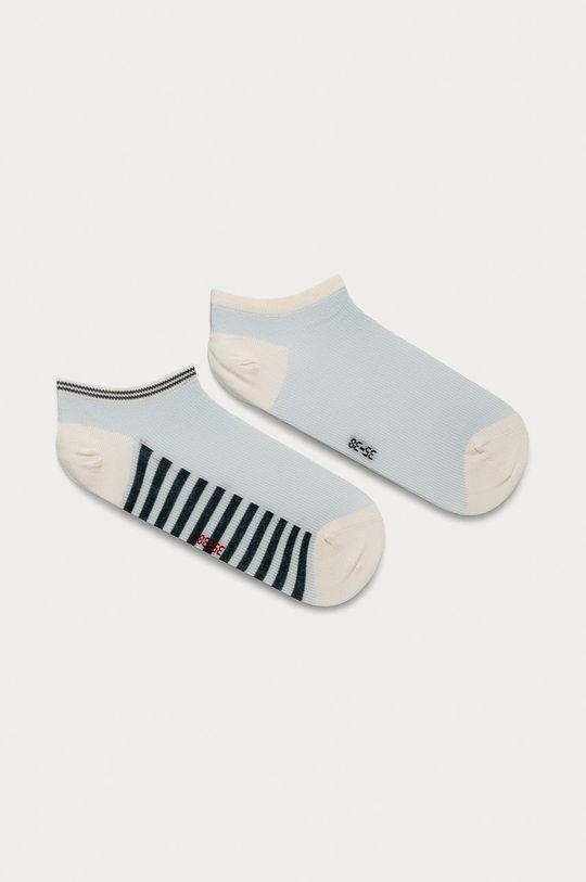 modrá Tommy Hilfiger - Ponožky (2-pak) Dámsky