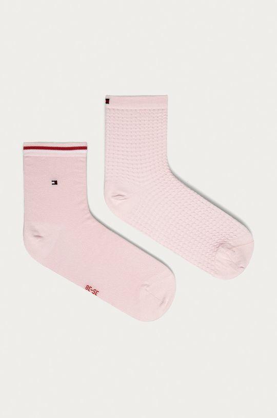 růžová Tommy Hilfiger - Ponožky (2-pack) Dámský