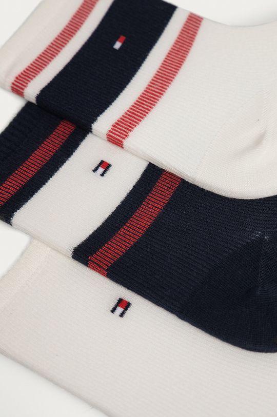 Tommy Hilfiger - Ponožky (3-pak) viacfarebná
