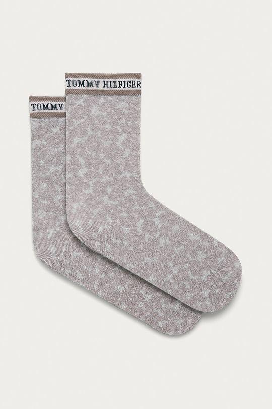 béžová Tommy Hilfiger - Ponožky Dámský
