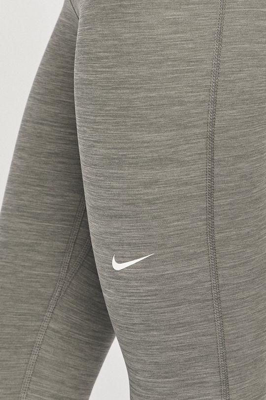 jasny szary Nike - Legginsy