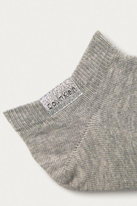 Calvin Klein - Skarpetki (2-pack) jasny szary