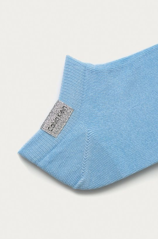 Calvin Klein - Skarpetki (2-pack) jasny niebieski