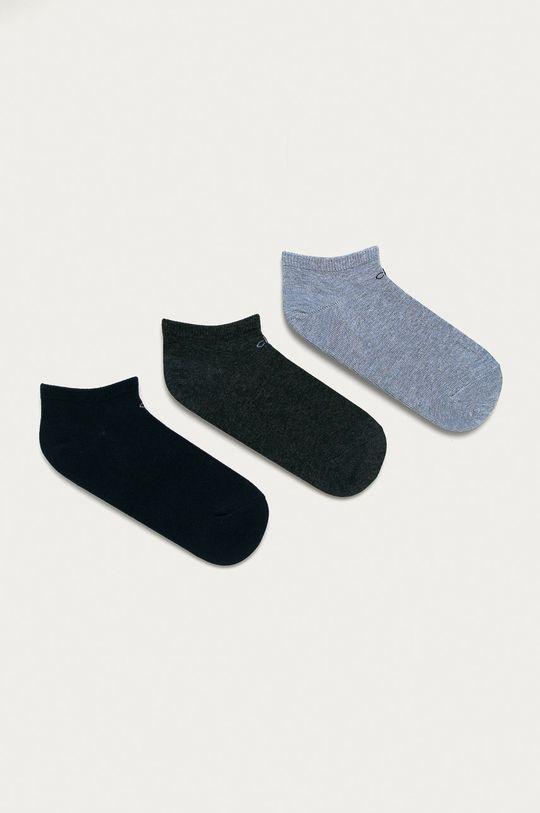 modrá Calvin Klein - Ponožky (3-pack) Dámský