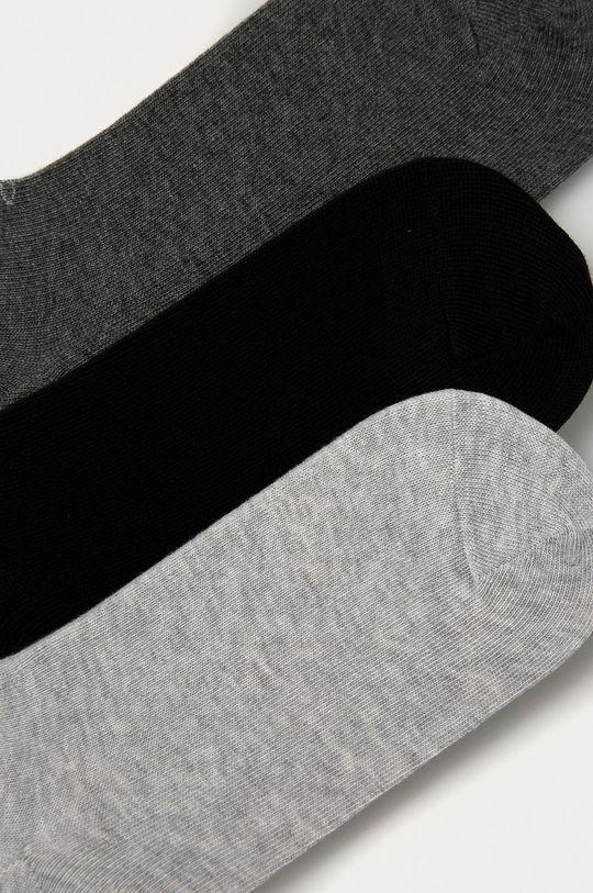 Calvin Klein - Skarpetki (3-pack) szary