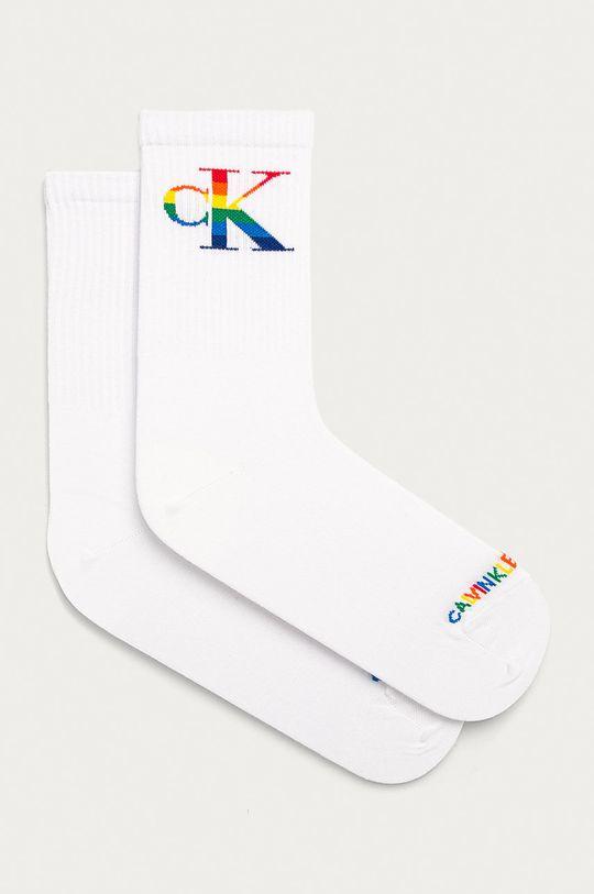 biela Calvin Klein - Ponožky Dámsky