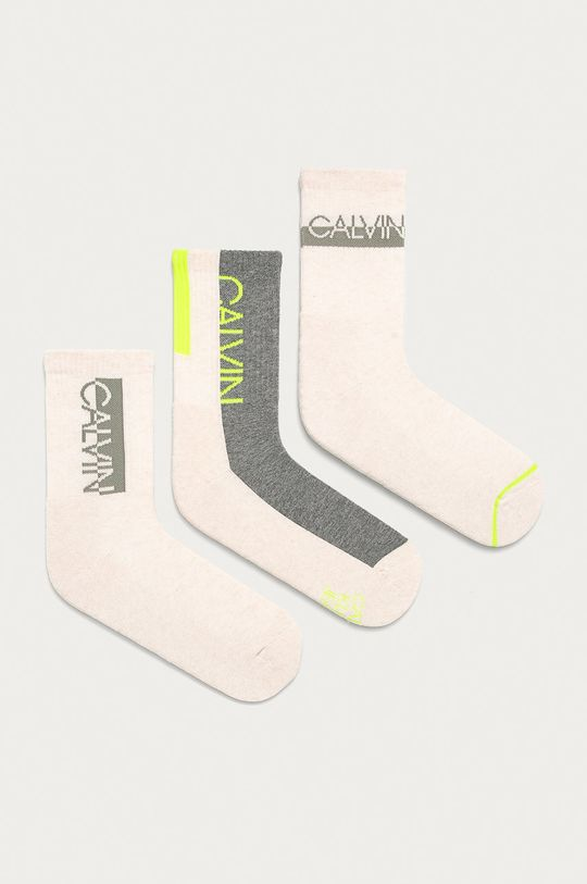 piesková Calvin Klein - Ponožky (3-pak) Dámsky