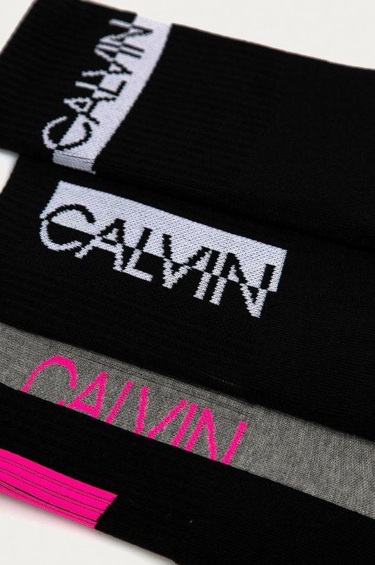 Calvin Klein - Skarpetki (3-pack) czarny