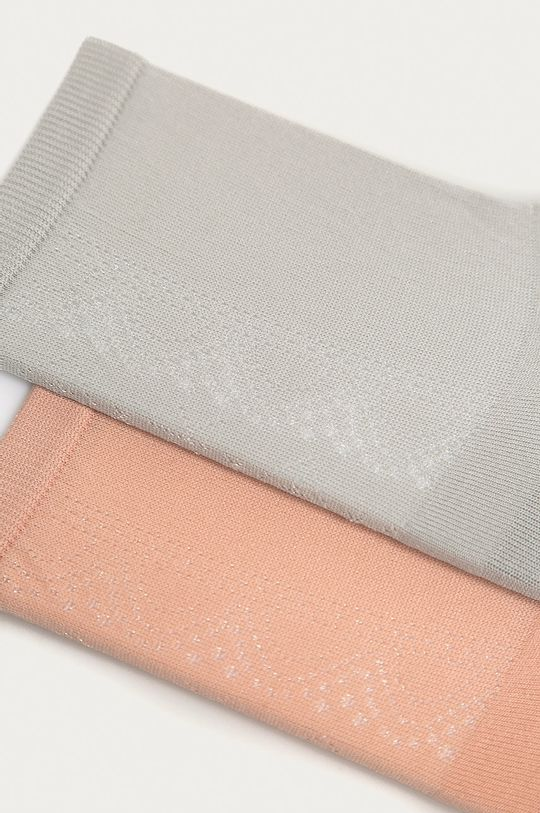 Calvin Klein - Ponožky (2-pak) staroružová
