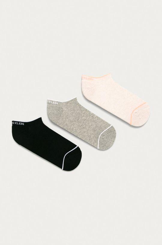 písková Calvin Klein - Ponožky (3-pack) Dámský