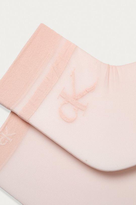 Calvin Klein - Skarpetki (2-pack) brudny róż