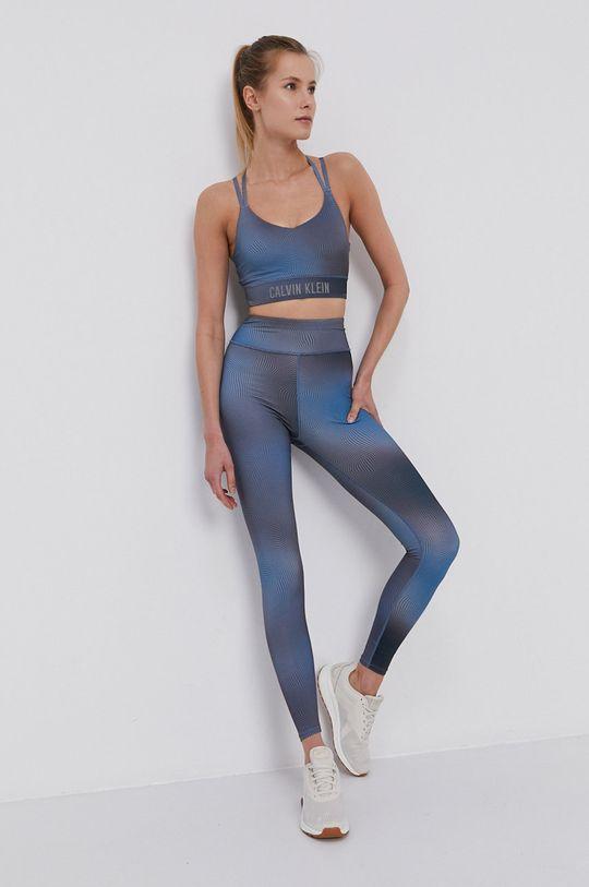 stalowy niebieski Calvin Klein Performance - Legginsy Damski