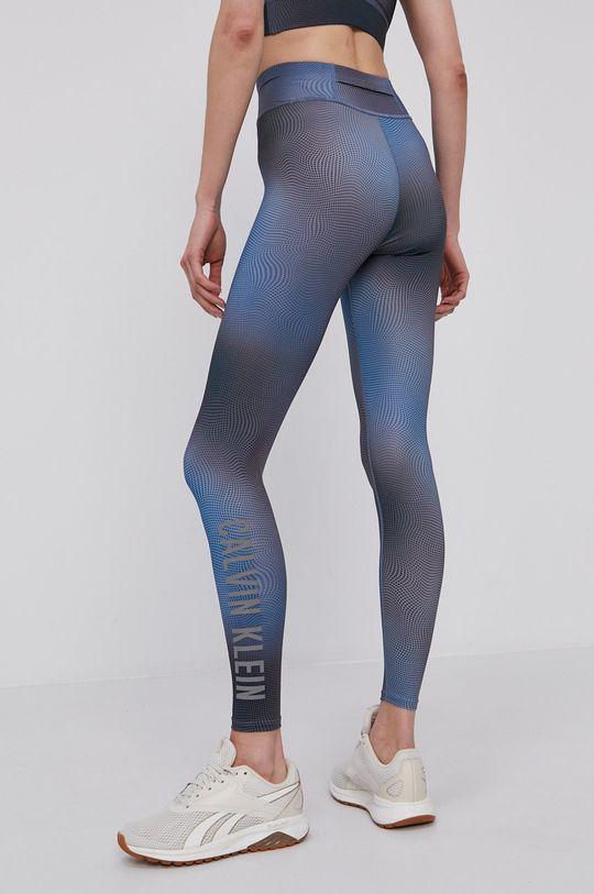 Calvin Klein Performance - Legginsy stalowy niebieski
