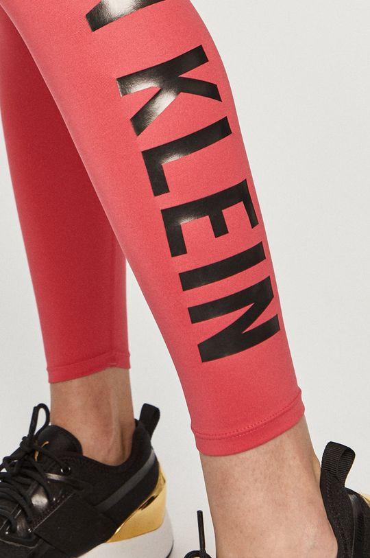 ostry różowy Calvin Klein Performance - Legginsy
